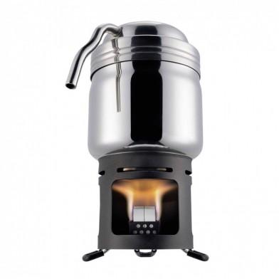 Кофеварка Esbit из нержавеющей стали с подставкой