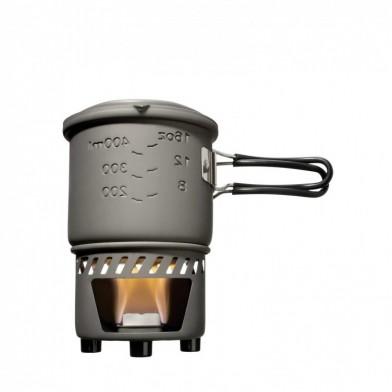 Набор для приготовления пищи Esbit CS585HA, с горелкой под сухое горючее, 0.585 л