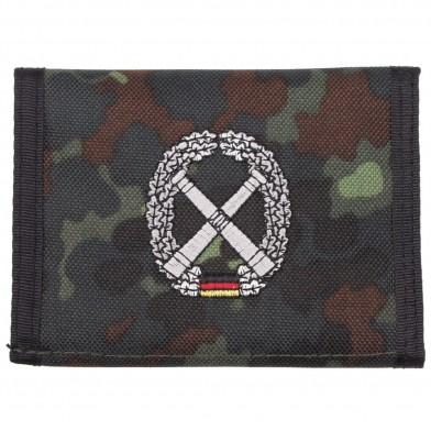 """Кошелёк Bw """"Artillerie"""", Flecktarn"""