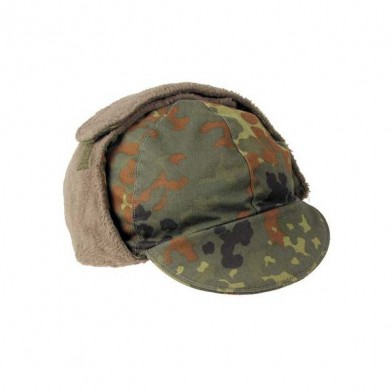 Зимняя шапка bw flecktarn, секонд