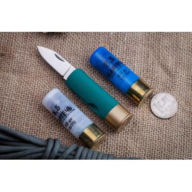 Нож-патрон, брелок 12