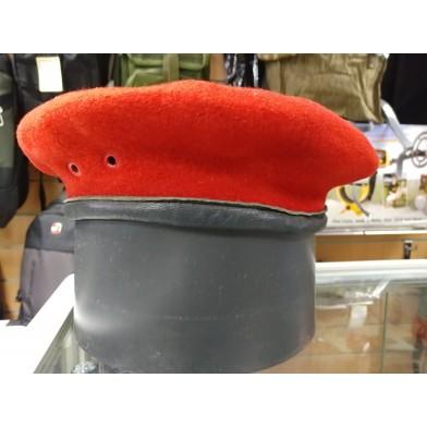 Берет армии Бундесвер BW бордовый секонд