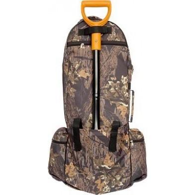 Рюкзак кладоискателя с отсеком для лопаты